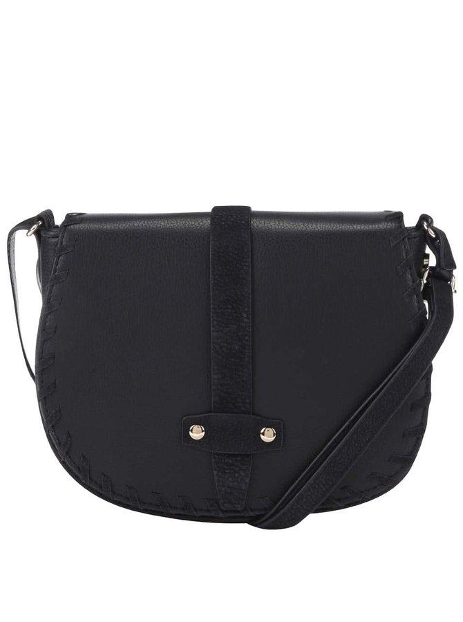 Černá menší kabelka s páskem s.Oliver