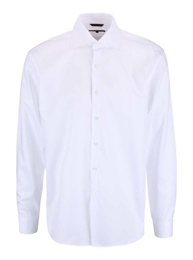 Biela pánska slim fit košeľa Seven Seas Fine Twill