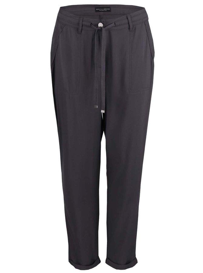 Pantaloni largi Dorothy Perkins gri