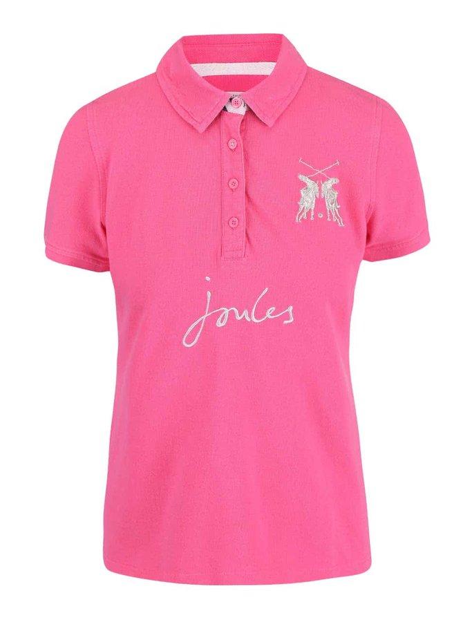 Růžové dámské polo tričko Tom Joule Beaufort