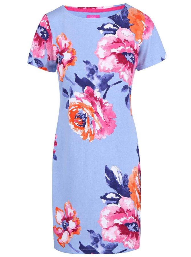 Světle modré květované šaty Tom Joule Riviera