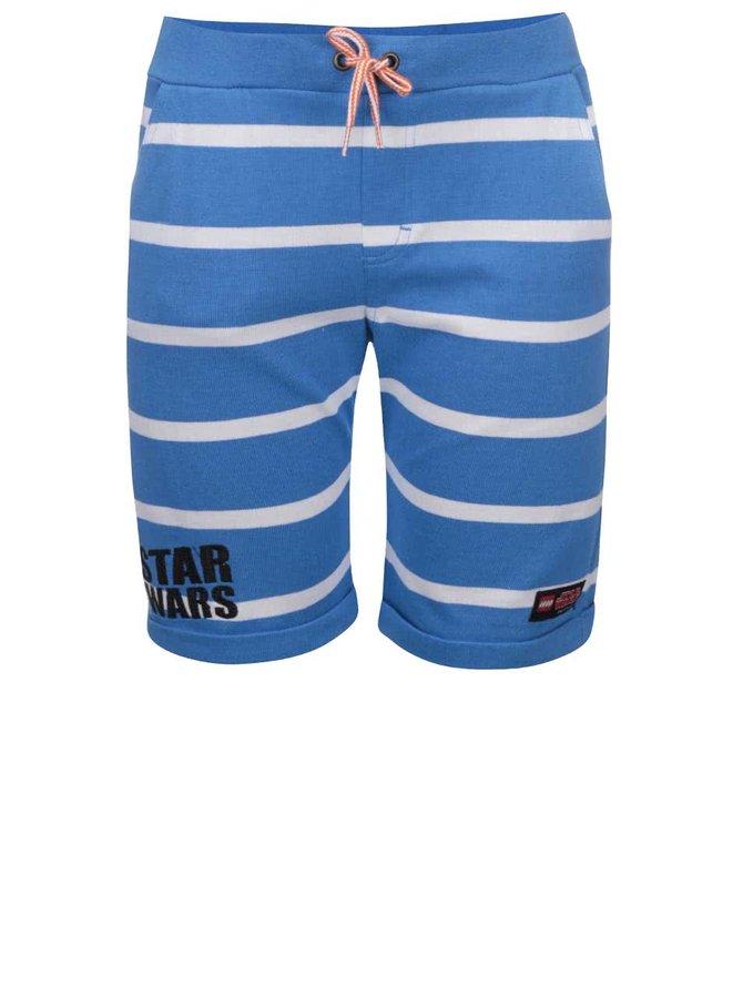 Pantaloni de sport LEGO Wear albaștri cu dungi