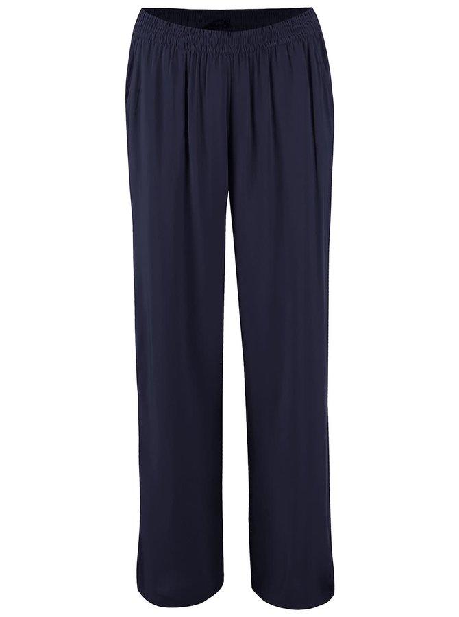 Tmavomodré voľnejšie nohavice ONLY Nova