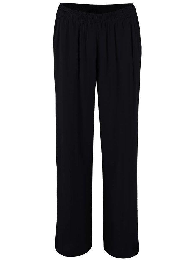 Černé volnější kalhoty ONLY Nova