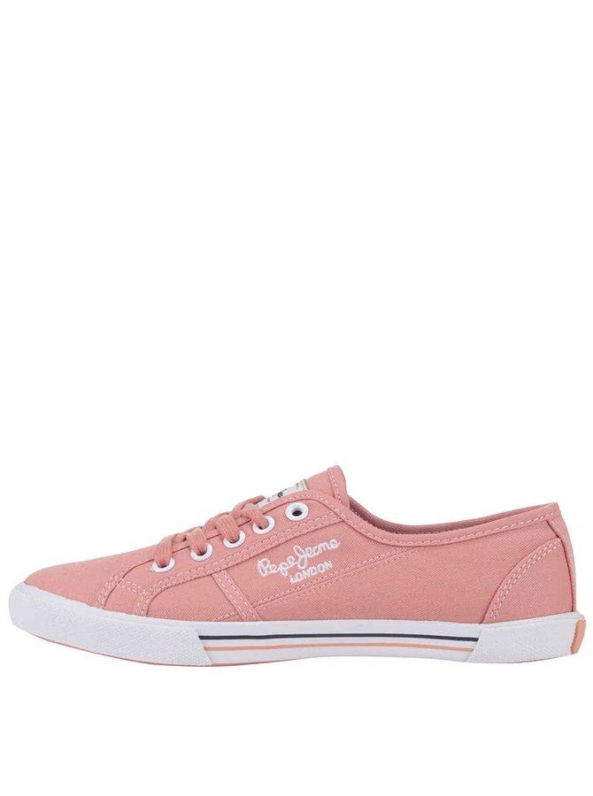 Teniși de damă Pepe Jeans roz pudrat