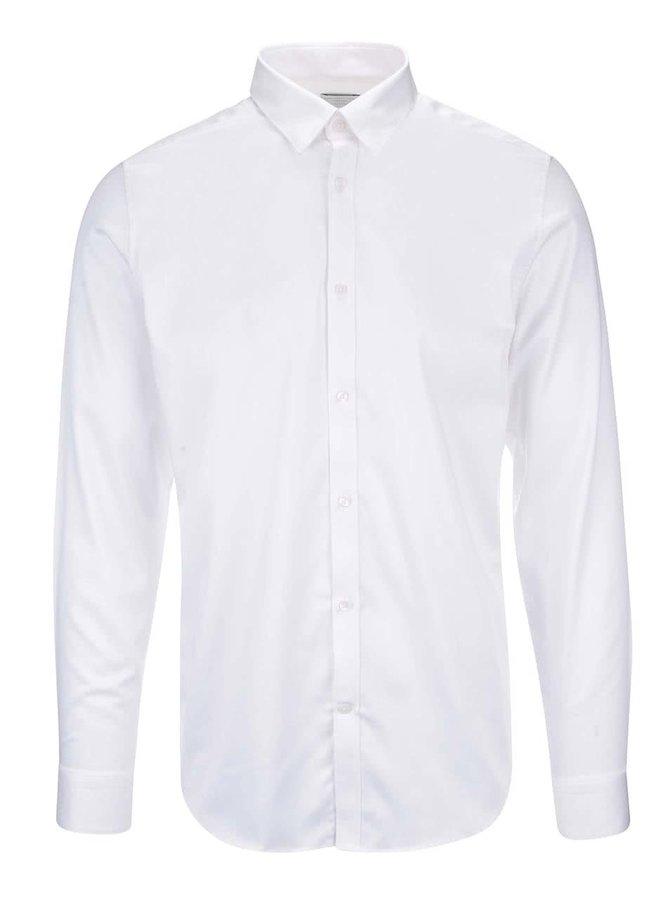 Bílá slim fit košile Selected Homme Done