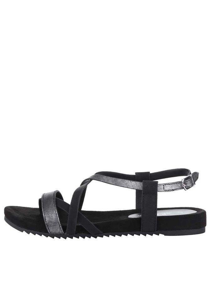 Sandale s.Oliver negre