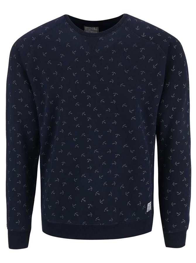Bluză Dstrezzed navy cu print