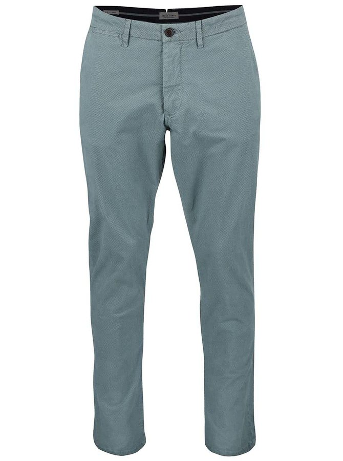Světle modré chino slim fit kalhoty Jack & Jones Marco