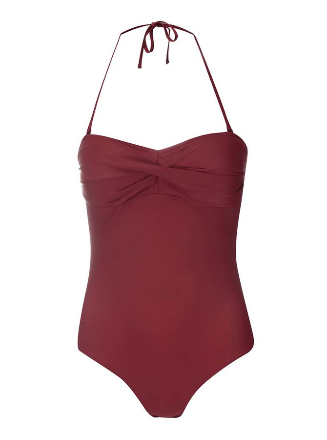 Costum de baie VERO MODA Wilma roșu