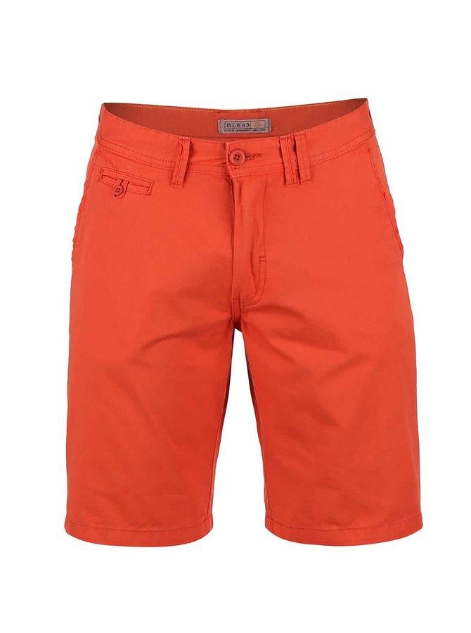 Pantaloni scurți Blend crem, cu model