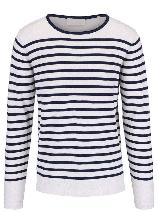 Modro-bílý pruhovaný svetr Tailored & Originals Richmond