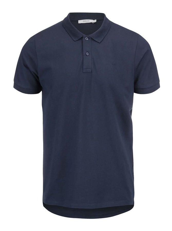 Tmavě modré polo triko Jack & Jones Smith