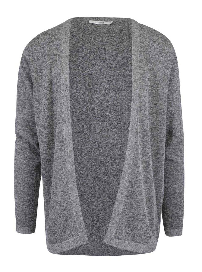 Šedý žíhaný cardigan Jack & Jones Ryan