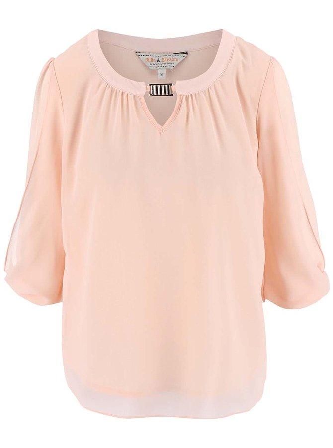 Bluză Dorothy Perkins roz deschis