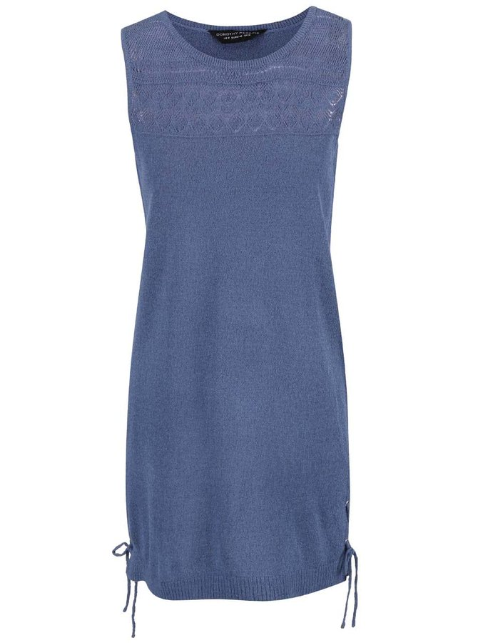 Modré ľahké šaty Dorothy Perkins
