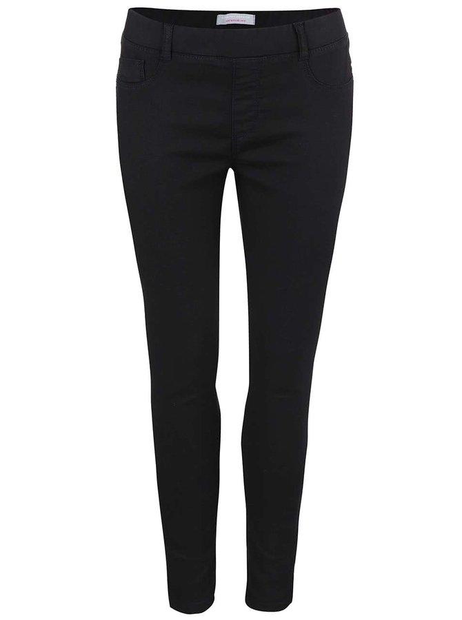 Černé skinny kalhoty Dorothy Perkins Petite