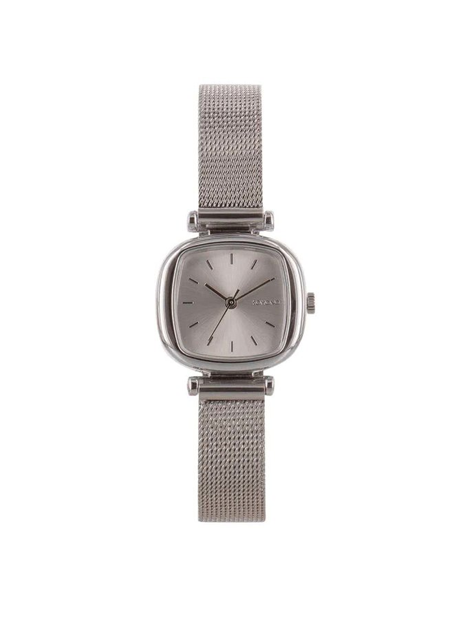 Dámské hodinky ve stříbrné barvě s nerezovým páskem Komono Moneypenny Royale Silver