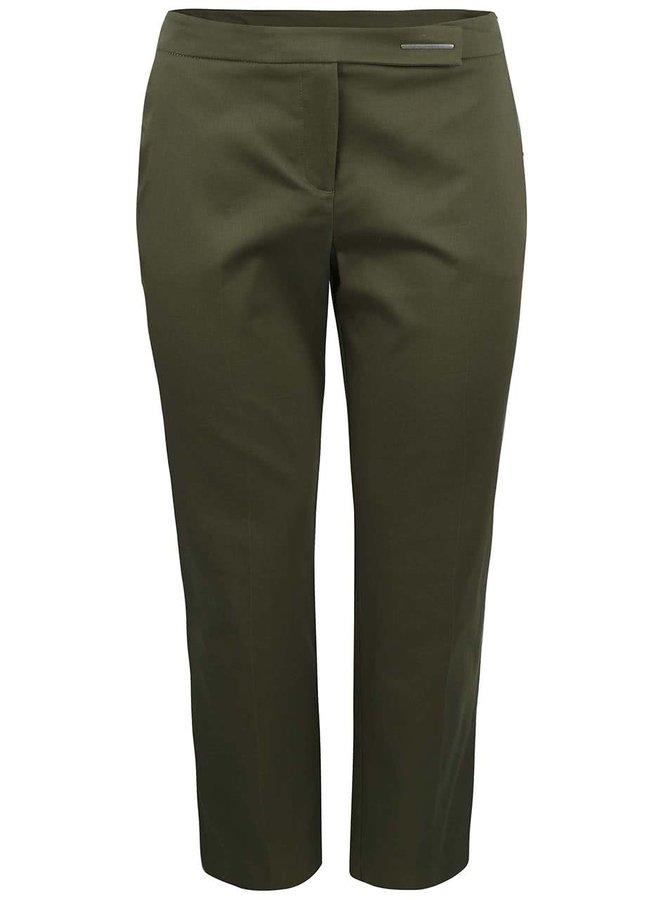 Khaki formální kalhoty Dorothy Perkins