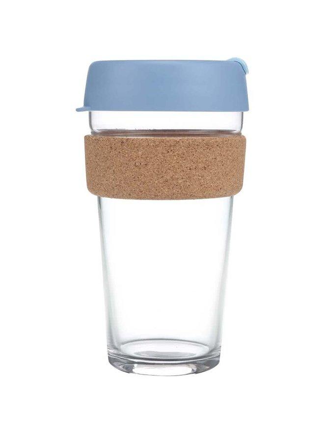 Cană mare de călătorie KeepCup Brew Rock Salt Cork