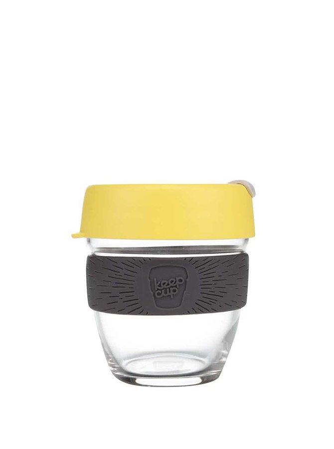Dizajnový cestovný sklenený hrnček KeepCup Brew Honey Small