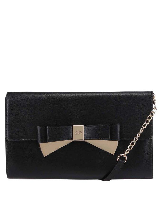 Čierna kabelka s mašličkou