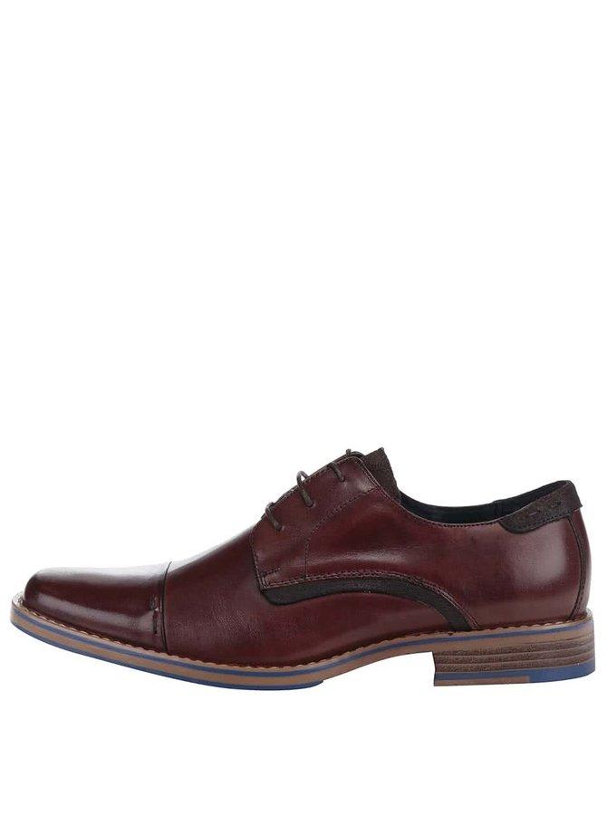 Pantofi din piele Dice Acker maro
