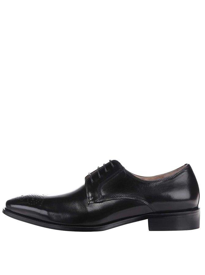 Pantofi din piele Dice Holt negri