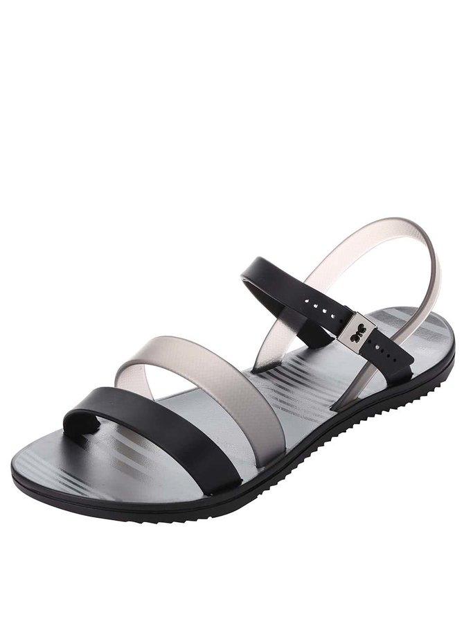 Šedo-černé plastové sandálky Zaxy Fashion Urban Sandal