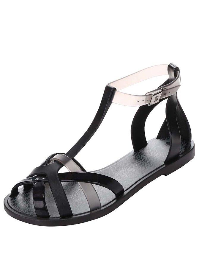 Sandale Zaxy Fashion Frozen gri/negre