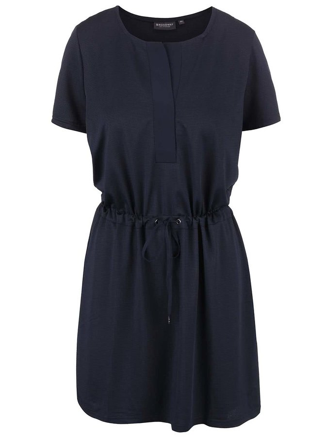 Tmavě modré šaty Broadway Delaine