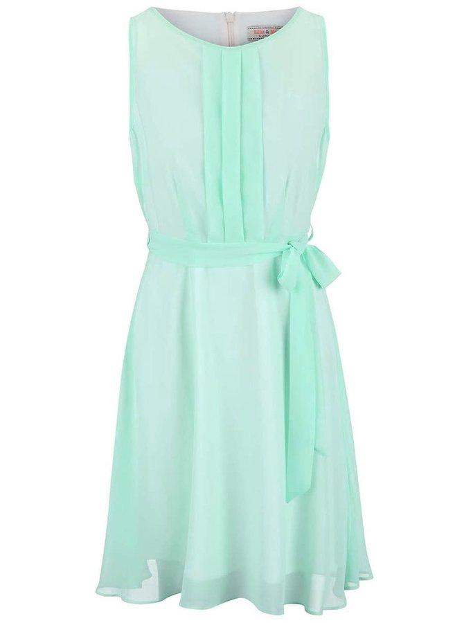 Mentolové šaty Dorothy Perkins