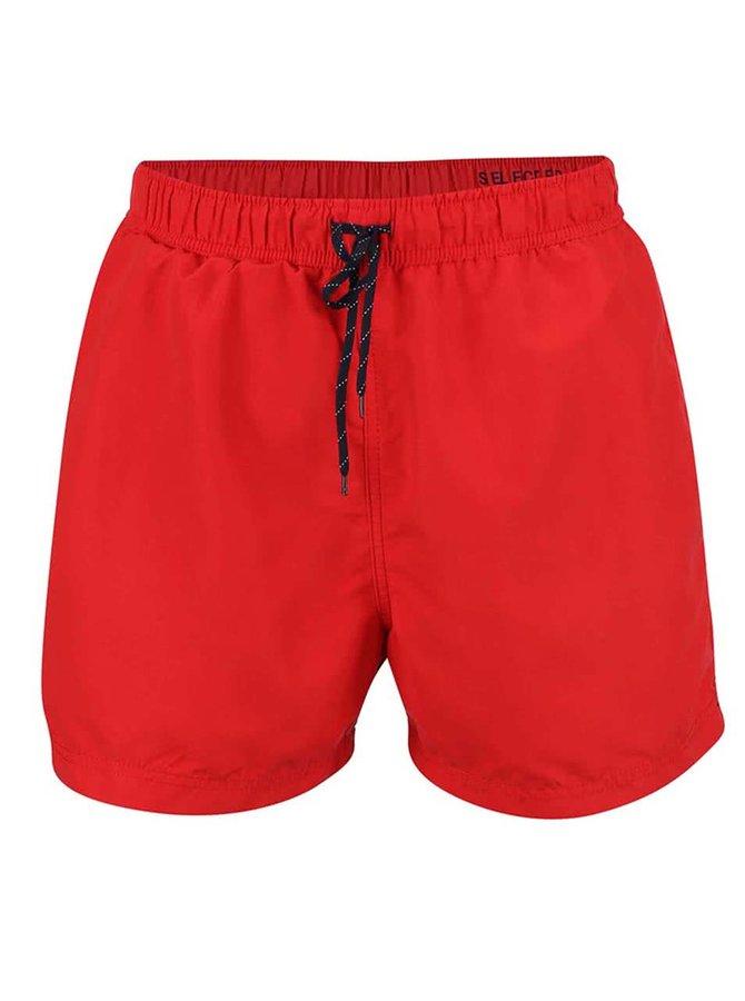 Červené plavky Selected Classic