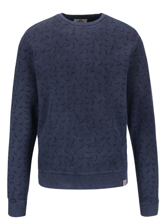 Bluză albastră Bellfield Nectar cu model