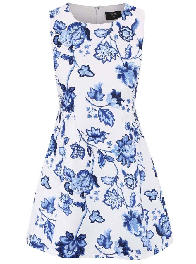 Rochie AX Paris albă cu model floral