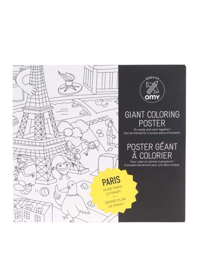 Veľká maľovanka Paris OMY