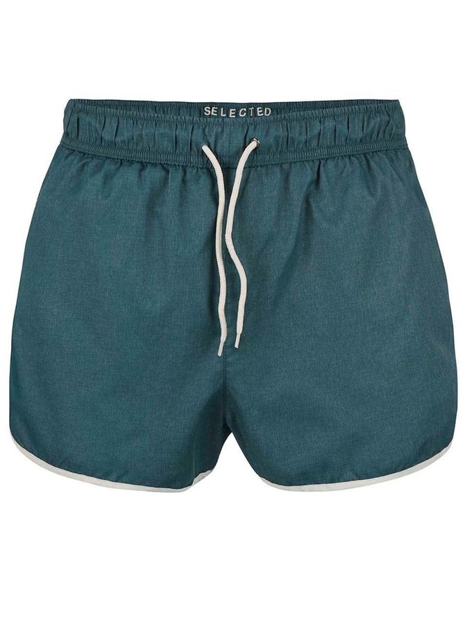Short de înot Selected Homme Runner albastru