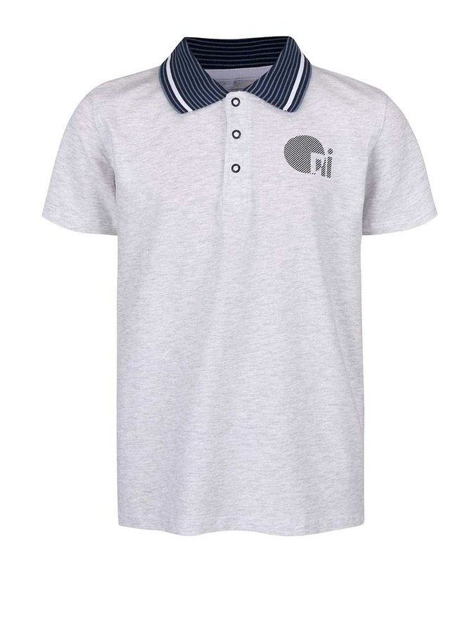 Tricou polo name it Vartin gri