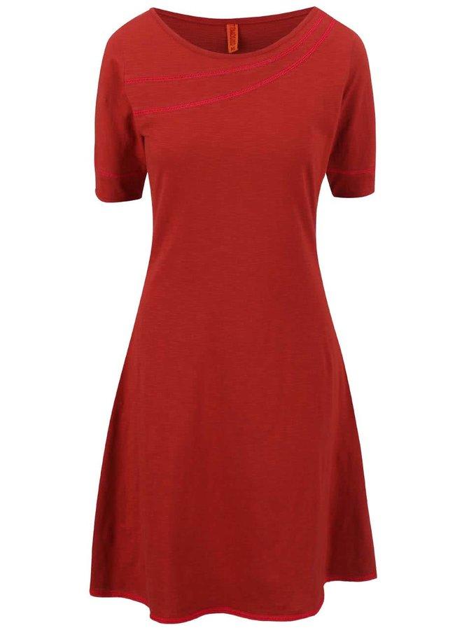 Cihlové šaty Tranquillo Colline