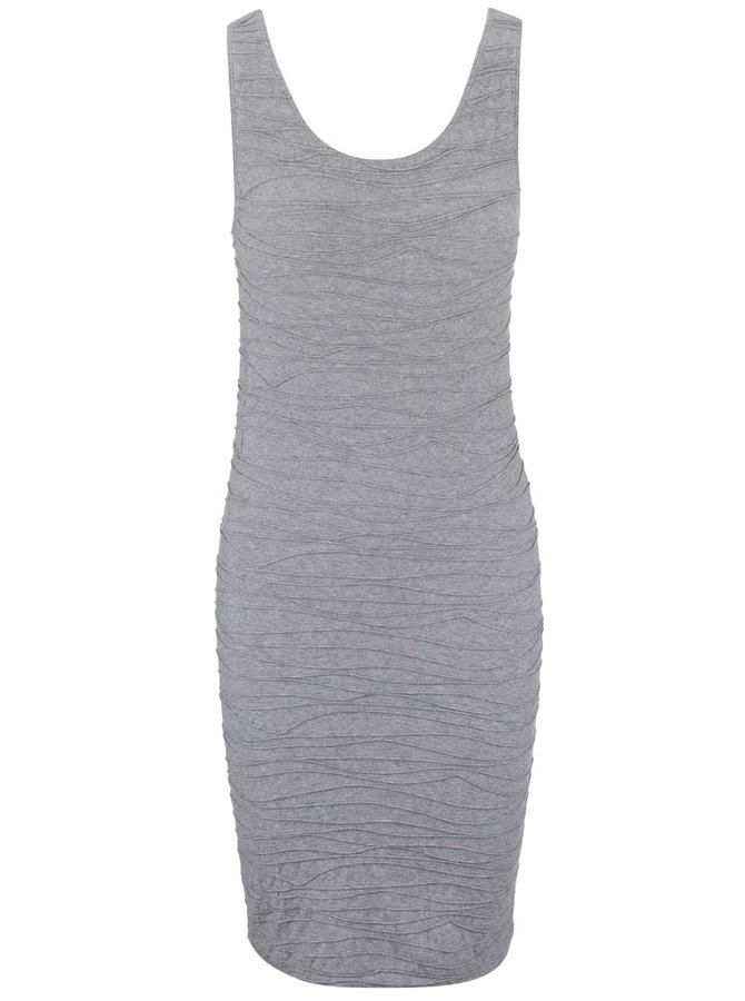 Sivé šaty VILA Ditri