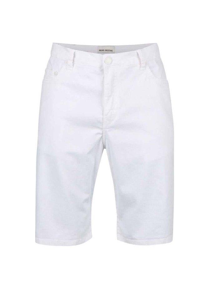 Pantaloni scurţi Shine Original Wayne Shorts albi