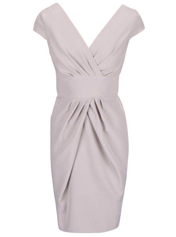 Béžovošedé šaty Closet