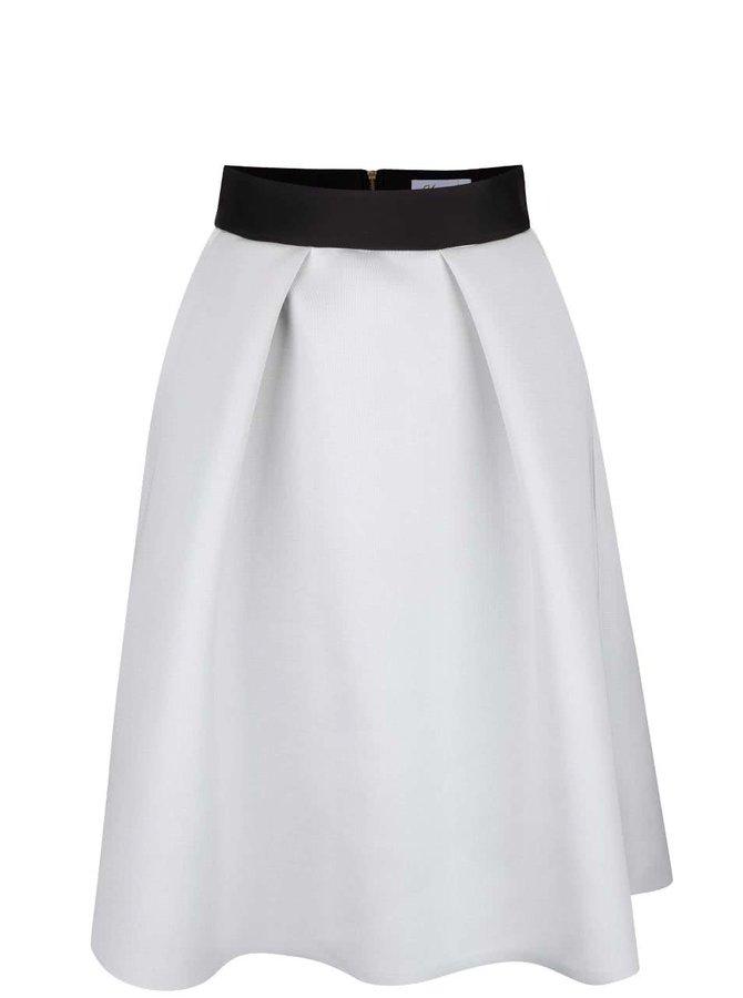 Sivá sukňa s čiernym lemom Closet