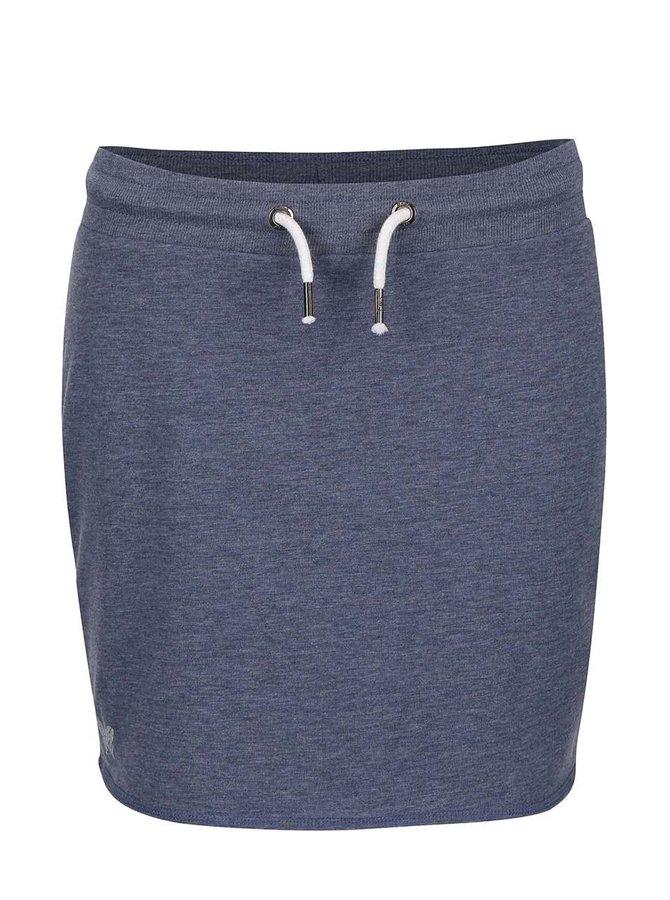 Modrá tepláková sukňa ONLY New Nilla