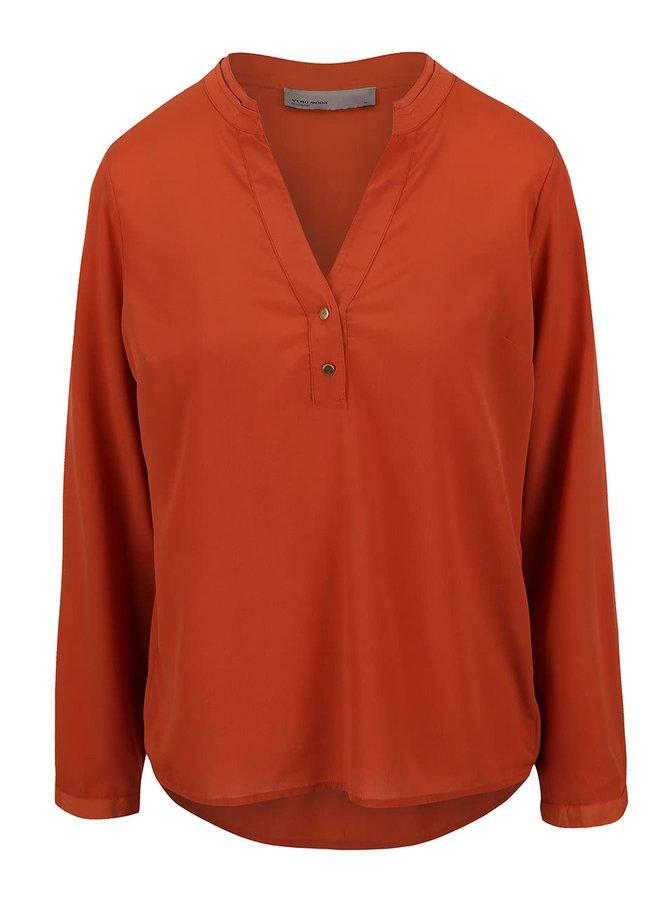 Bluză VERO MODA Eve roșie
