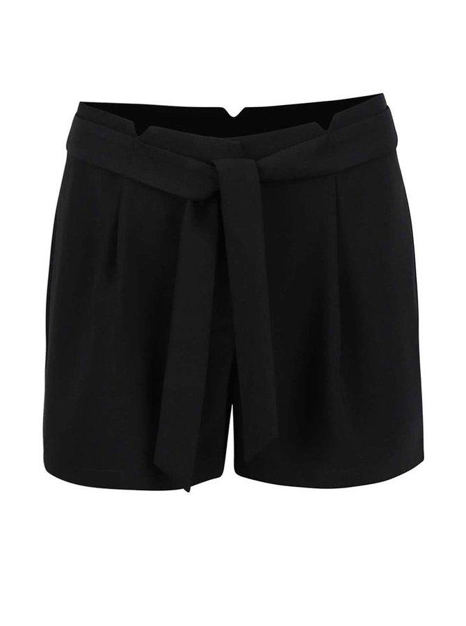 Pantaloni scurți Vero Moda Garry negri