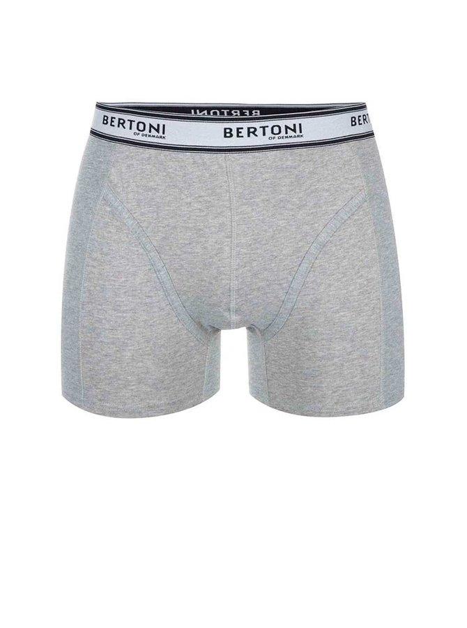 Sivé boxerky Bertoni Ulf