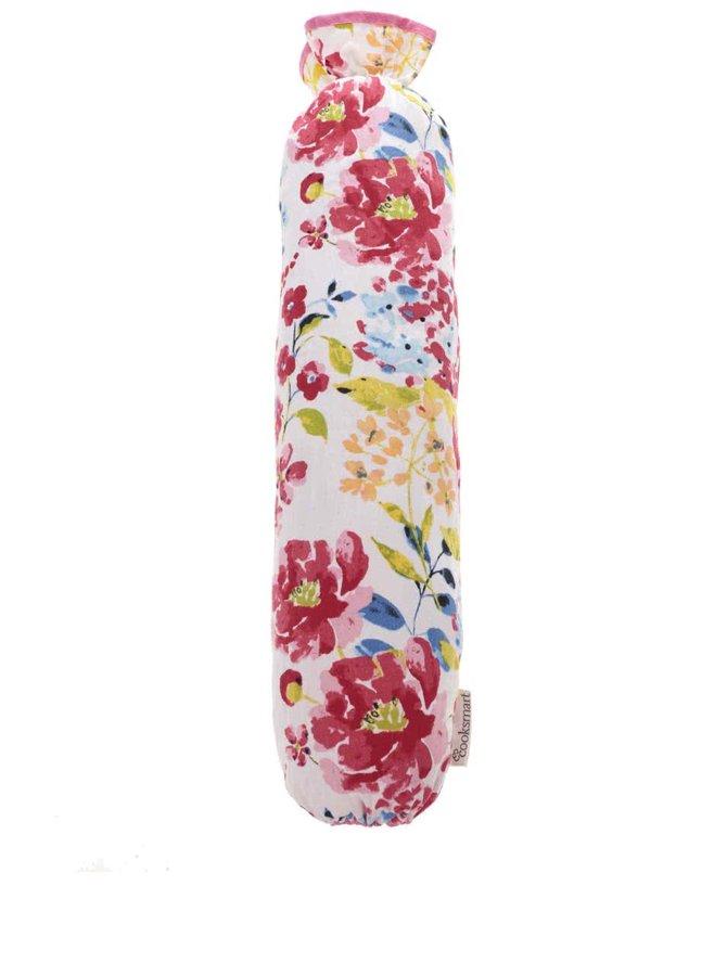 Biely vak na igelitové tašky Cooksmart Floral Romance