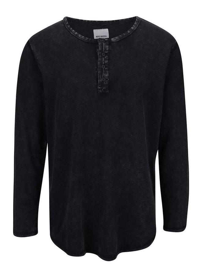 Sivé tričko s dlhým rukávom Shine Original