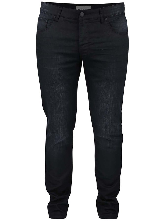 Blugi de bărbați slim fit Shine Original negri
